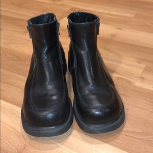 Dr. Martens ankle boots black leather size 8